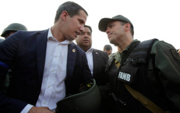 Βενεζουέλα: Νέες εκκλήσεις Γκουαϊδό προς τον στρατό, ο Μαδούρο καλεί σε «ετοιμότητα»