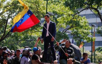 Βενεζουέλα: Στήριξη σε Γκουαϊδό από ΗΠΑ, Κολομβία και Βραζιλία
