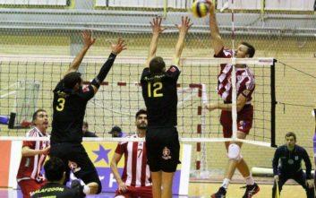 Ολυμπιακός και ΑΕΚ ρίχνονται στη μάχη των playoffs της Volley League