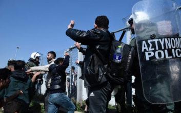 Τραυματίας αστυνομικός μετά τα επεισόδια στα Διαβατά