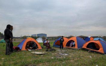 Ολονύχτια επιχείρηση εκκένωσης στον καταυλισμό στα Διαβατά