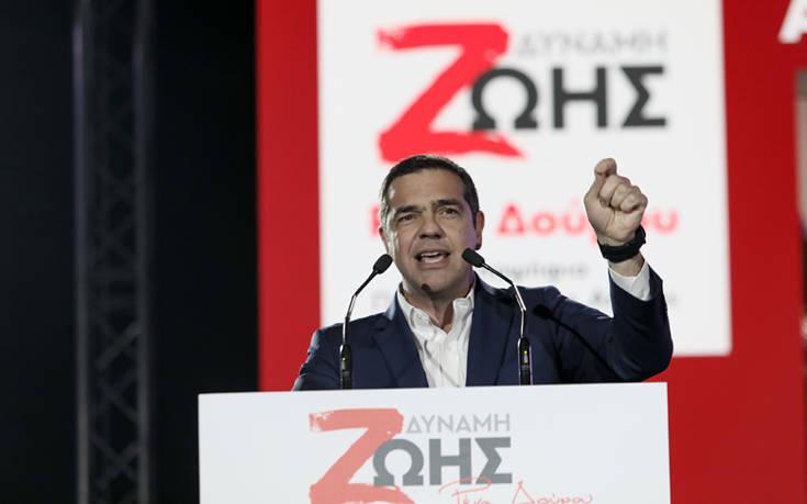 Ευρωεκλογές 2019: Ο Τσίπρας παρουσιάζει το ευρωψηφοδέλτιο του ΣΥΡΙΖΑ