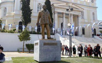 Αποκαλυπτήρια του Μνημείου του Αφανούς Ναυτικού στον Πειραιά