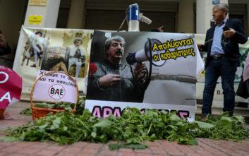 Η ντουντούκα, ο Πολάκης και η διαμαρτυρία στο υπουργείο Υγείας