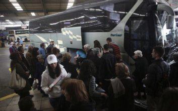 Έξοδος Πάσχα: Αυξημένη η κίνηση σε ΚΤΕΛ, τρένα και αεροδρόμιο