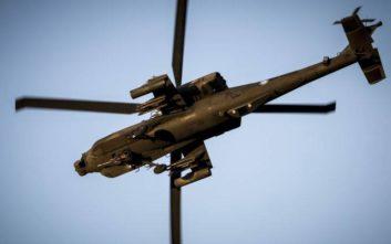 Αναγκαστική προσγείωση στρατιωτικού ελικοπτέρου στα Φάρσαλα