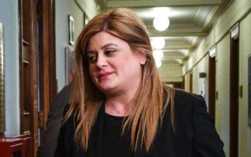 Εκλογές 2019: Ψήφισε η υφυπουργός Μακεδονίας - Θράκης Ελευθερία Χατζηγεωργίου