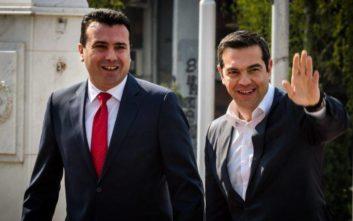 Πρώτη είδηση στο δελτίο του BBC η επίσκεψη Τσίπρα στα Σκόπια