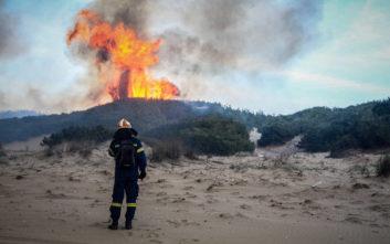 Πολύ υψηλός κίνδυνος πυρκαγιάς και σήμερα Πέμπτη