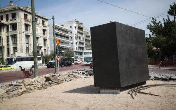 Άγαλμα του Μεγάλου Αλεξάνδρου τοποθετείται στο κέντρο της Αθήνας