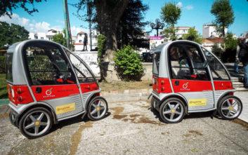 Πέντε ηλεκτροκίνητα οχήματα στους δρόμους των Τρικάλων