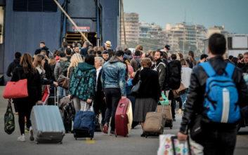 Έξοδος Πάσχα: Αναχωρούν κατά χιλιάδες οι εκδρομείς μέσω Πειραιά και του Λαυρίου
