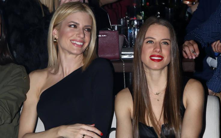 Σπάνια βραδινή έξοδος της Ευαγγελίας Αραβανή με την αδελφή της – Newsbeast