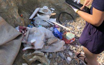 «Κόκκινος συναγερμός» για τη ρύπανση από πλαστικά στην Ελλάδα