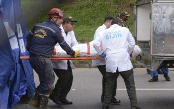 Κολομβία: Τους 33 έφτασαν οι νεκροί από την κατολίσθηση