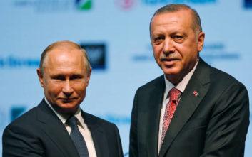 Συνομιλία Πούτιν – Ερντογάν για την «άσχημη» κατάσταση στο Ιντλίμπ