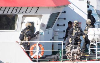 Μια έγκυος αποβιβάστηκε στη Μάλτα από το Sea-Eye με τους 62 μετανάστες