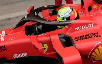 Ο γιος του Μίκαελ Σουμάχερ μπήκε στο κόκπιτ της Ferrari