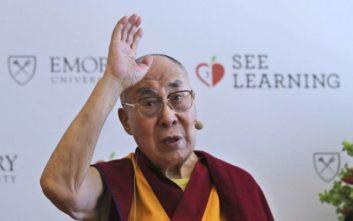 Σε νοσοκομείο με πνευμονική λοίμωξη ο Δαλάι Λάμα