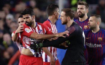 Τέλος η σεζόν για τον Ντιέγκο Κόστα που τιμωρήθηκε οκτώ αγωνιστικές