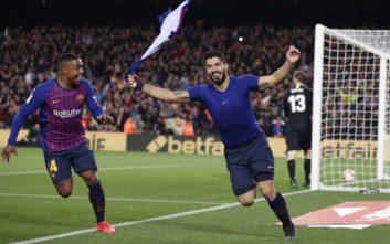 «Καθάρισε» την Ατλέτικο Μαδρίτης και τον τίτλο η Μπαρτσελόνα
