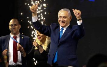 Ο Μπενιαμίν Νετανιάχου οδεύει προς μια πέμπτη θητεία στην πρωθυπουργία