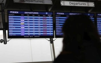 Εκατοντάδες πτήσεις ακυρώθηκαν στο Σικάγο λόγω καθυστερημένης χιονοθύελλας
