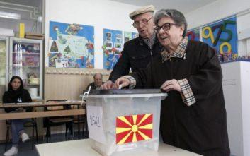 Σε εξέλιξη η ψηφοφορία για τις προεδρικές εκλογές στα Σκόπια