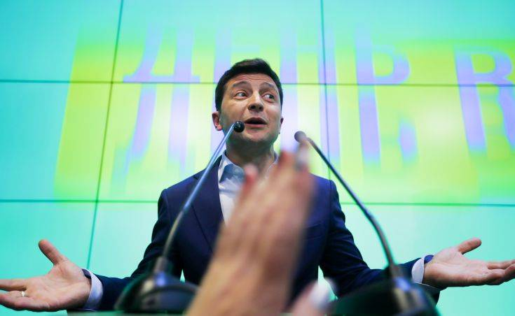 Ικανοποίηση στη Μόσχα για την εκλογή Ζελένσκι