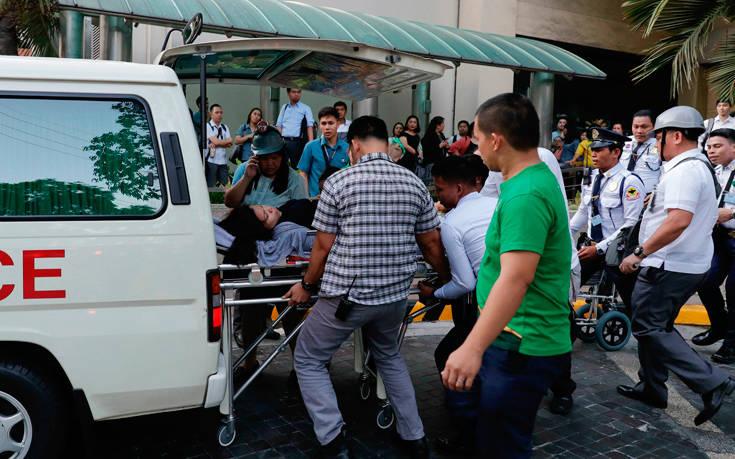 Πέντε νεκροί από τον ισχυρό σεισμό στις Φιλιππίνες