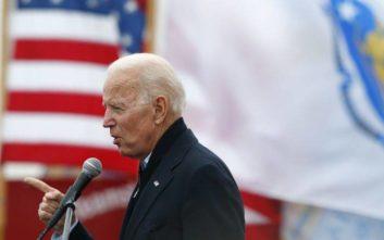 Ο Τζο Μπάιντεν στην κούρσα για το προεδρικό χρίσμα των Δημοκρατικών