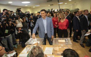 Εκλογές στην Ισπανία: Νικητής το Σοσιαλιστικό Κόμμα  του Πέδρο Σάντσεθ