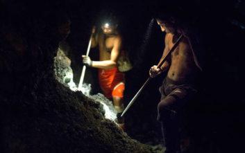 Αγνοούνται 54 εργαζόμενοι σε ορυχείο που κατέρρευσε στη Μιανμάρ