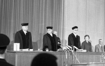 Ο αδέκαστος δικαστής της δίκης του Άουσβιτς είχε ένα σκοτεινό παρελθόν