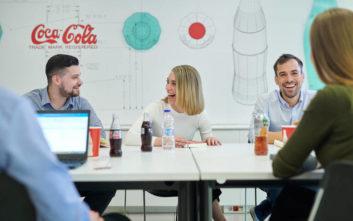 Η Coca-Cola Τρία Έψιλον στους εργοδότες επιλογής για τη Γενιά Y για 5η συνεχή χρονιά
