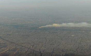 Παναγία των Παρισίων: Επιβάτης αεροπλάνου κατέγραψε τη φωτιά