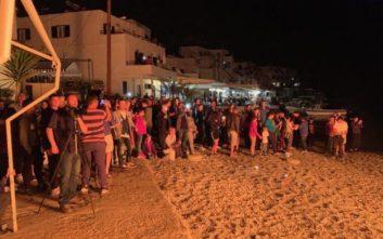 Ανάσταση στο Λουτρό Σφακίων: Έκαψαν τον Ιούδα στην παραλία