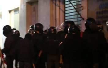 Ανάληψη ευθύνης για καταδρομική επίθεση στα γραφεία της Χρυσής Αυγής στο Σταθμό Λαρίσης
