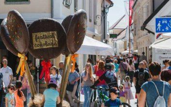 Η Σλοβενία φτιάχνει σοκολάτα βάρους 97 κιλών