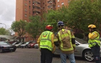 Αναστάτωση και τραυματίες από έκρηξη σε κτίριο στη Μαδρίτη