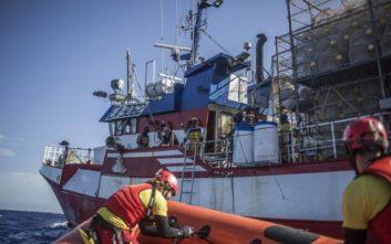 Στη Μάλτα έφτασαν οι μετανάστες της ΜΚΟ Sea-Eye