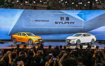 Πρεμιέρα για το Nissan Sylphy στη Σαγκάη