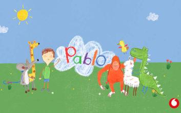 To Vodafone TV παρουσιάζει τον Pablo, τον 1ο παιδικό ήρωα με αυτισμό