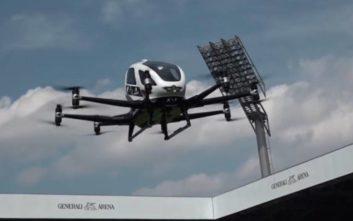 Πρώτη δημόσια εμφάνιση για το drone ταξί EHang 216