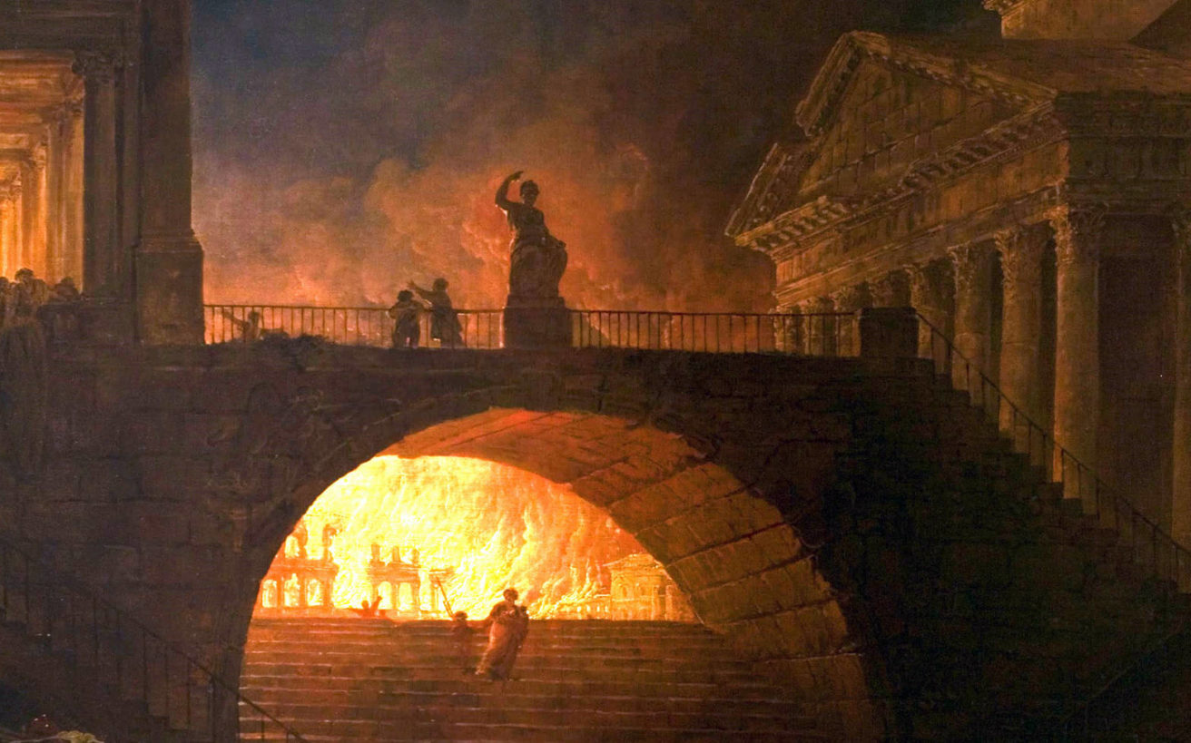 Έκαψε πράγματι ο Νέρωνας τη Ρώμη για να κατηγορήσει τους χριστιανούς;