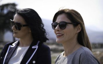 Η βόλτα που έκαναν οι δύο «πρώτες κυρίες» στα Σκόπια