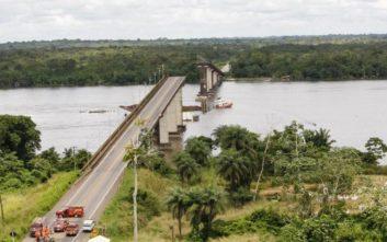 Πλοίο έπεσε πάνω σε γέφυρα στη Βραζιλία, κατέρρευσε τμήμα 200 μέτρων