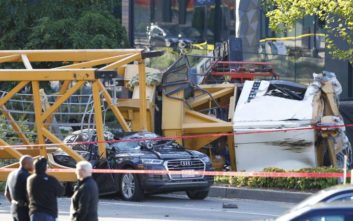 Γιγάντιος γερανός κατέρρευσε στο Σιάτλ και σκότωσε 4 ανθρώπους