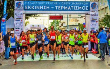 Ξεπέρασαν τις 4.000 οι συμμετοχές στο Μαραθώνιο Κρήτης