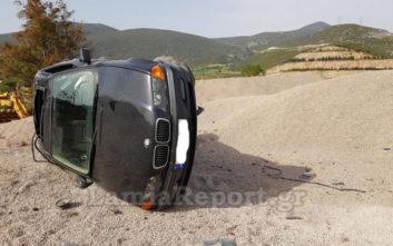Οδηγός έχασε τον έλεγχο και το όχημα έφερε αρκετές τούμπες